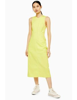 **Neon Tailored Dress By Boutique by Topshop