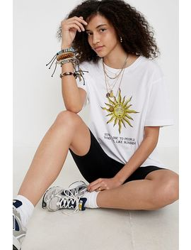 Uo Sunshine People Organic Cotton T Shirt by Urban Outfitters