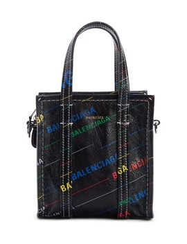 Extra Extra Small Bazar Aj Lambskin Shopper by Balenciaga