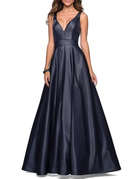 Mikado Evening Dress by La Femme