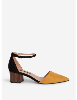 Yellow 'darla' Court Shoes by Dorothy Perkins