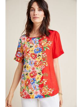 Embroidered Blossom Top by Vineet Bahl