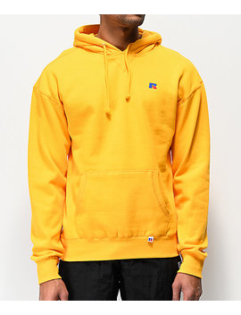 Russell Athletic Mason Gold Hoodie by Russel Athletic