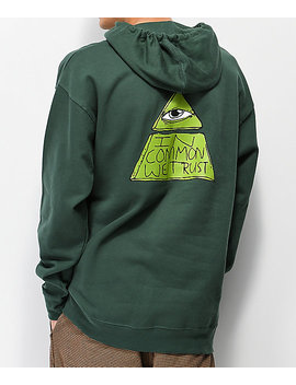 Common Trust Fund Green Hoodie by Common Apparel
