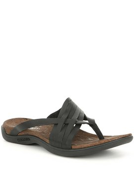 District Mahana Post Leather Sandals by Merrell