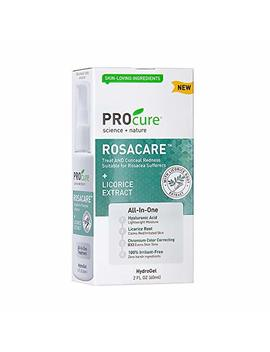 Pr Ocure Rosacare Gel, 2 Oz, Medicated Skincare Treats Redness; Hyalurnoic Acid, Redness Reducing Licorice & Instant Redness Reduction Cc Cream. Suitable For Rosacea Sufferers by Pro Cure