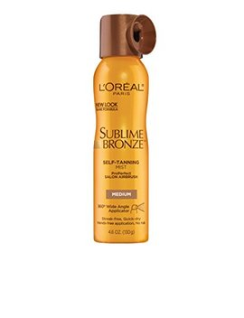 L'oreal Sublime Bronze Self Tannning Mist, Medium Natural Tan 4.60 Oz by L'oreal Paris