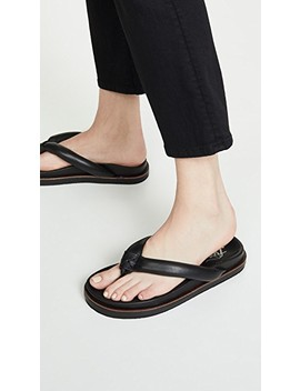 Lena Footbed Flip Flops by Free People
