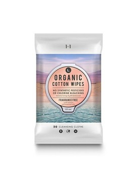 L. Organic Cotton Fragrance Free Cleansing Cloths   30ct by 30ct