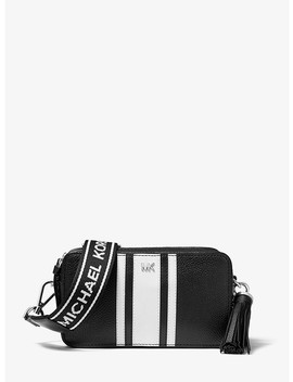 Small Logo Tape Camera Bag by Michael Michael Kors