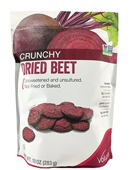 Volupta Crunchy Dried Beet Unsweetened & Unsulfured 10 Oz by Amazon