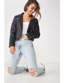 Easy Rider Moto Jacket by Cotton On