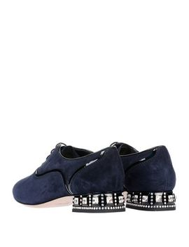 Miu Miu Laced Shoes   Footwear by Miu Miu