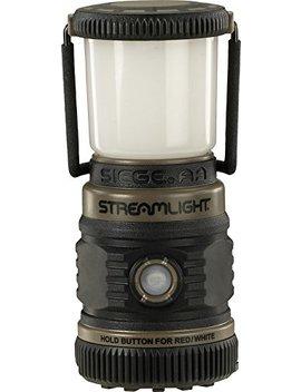 Streamlight 44941 Siege 200 Lumen Ultra Compact Work Lantern (Coyote Green, 3x Aa Battery) by Streamlight