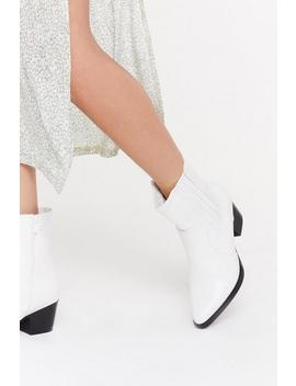 High Ankle Western Boot by Nasty Gal