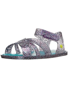 Western Chief Kids' Comfort Glitter Summer Outdoor Sandal by Western Chief