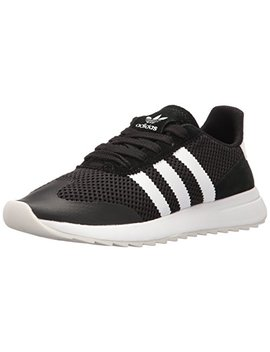 Adidas Originals Women's Flashback Fashion Sneakers, White/Black, ((10 M Us) by Adidas Originals