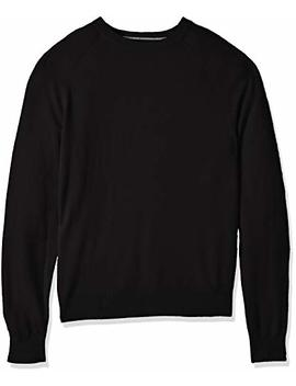 Amazon Brand   Buttoned Down Men's 100 Percents Premium Cashmere Crewneck Sweater by Buttoned Down