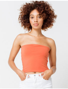 Full Tilt Essentials Rust Womens Tube Top by Full Tilt