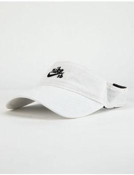 Nike Sb Corduroy White Mens Visor by Nike Sb