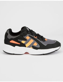 Adidas Yung 96 Chasm Core Black & Sol Red Shoes by Adidas