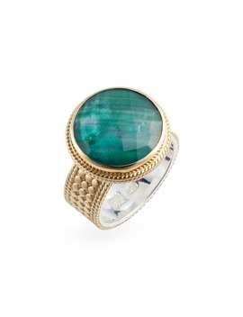 Semiprecious Cocktail Ring by Anna Beck