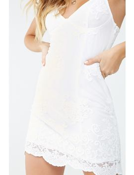 embroidered-mesh-lace-dress by forever-21