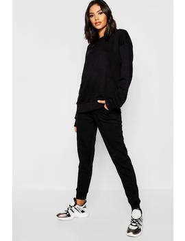 Basic Sweat Joggers Co Ord by Boohoo