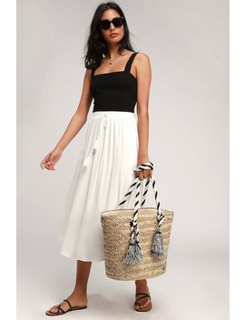island-time-natural-woven-tassel-tote-bag by billabong