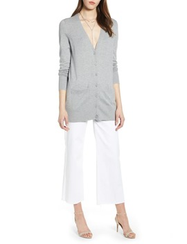 Button Front Cardigan by Halogen®