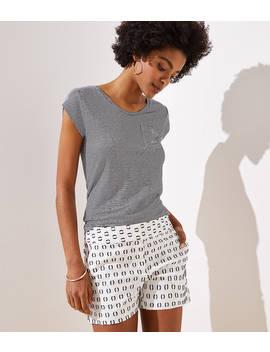 Textured Dot Shorts by Loft
