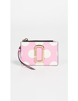 Snapshopt Top Zip Multi Wallet by Marc Jacobs