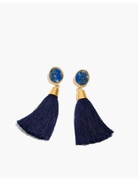 Stone Tassel Earrings by Madewell