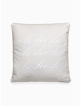 La Dee Da Decorative Pillow by Kate Spade