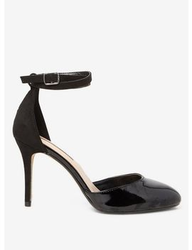 Black Patent 'Eleanor' Court Shoes by Dorothy Perkins