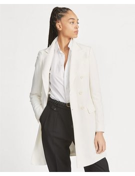 Double Breasted Linen Blazer by Ralph Lauren