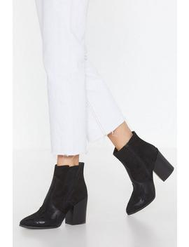 Take A Hike Western Boots by Nasty Gal