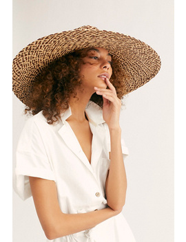 Belize Wide Brim Straw Hat by Brooklyn Hat Co.