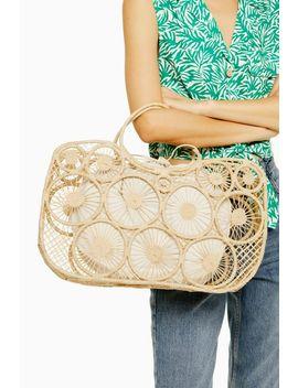 Sail Handmade Straw Tote Bag by Topshop