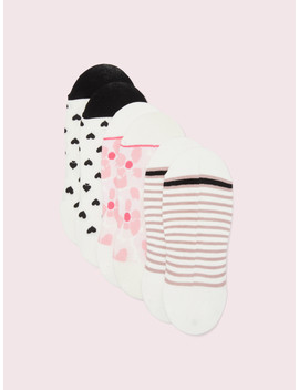 Abstract Peony No Show Sock Set by Kate Spade