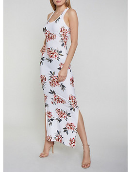 Floral Tank Maxi Dress | 0094051060954 by Rainbow