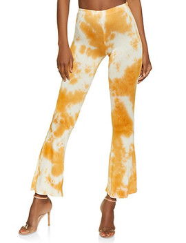Flared Tie Dye Pants | 3061074015692 by Rainbow