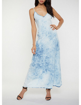 chambray-cami-maxi-dress by rainbow