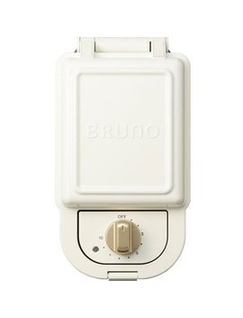 Bruno Hot Sand Maker Single (White) Boe043 Wh【Japan Domestic Genuine Products】【Ships From Japan】 by Bruno