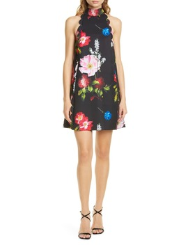Tanii Floral Scallop Shift Dress by Ted Baker London