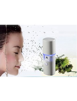 Nano Facial Mister Portable Mini Face Mist Handy Sprayer Atomization Eyelash Extensions Cool Facial Steamer by Mini Lop