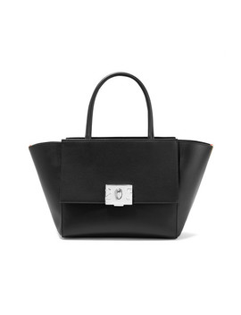 Bonnie Medium Canvas Trimmed Leather Tote by Calvin Klein 205 W39 Nyc