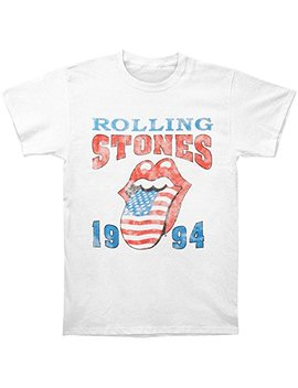 Rolling Stones Men's 1994 Stones T Shirt White by Rolling Stones