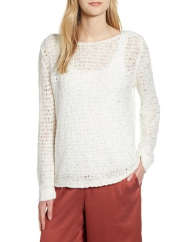Open Stitch Sweater by Lou & Grey