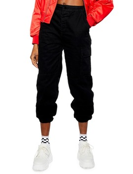 Tommy Cuff Utility Trousers by Topshop